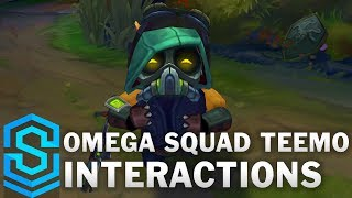 Omega Squad Teemo Special Interactions