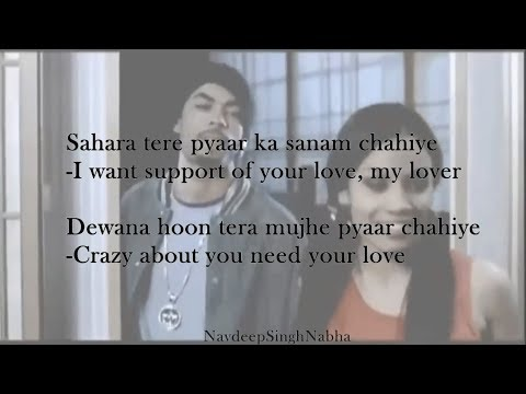 """BOHEMIA English Translation - HD Official Lyrics Of In 'Sahara' By """"Bohemia"""" With 'English Meaning'"""