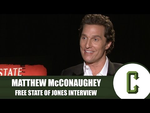 Matthew McConaughey on Reuniting with 'Mud' Star Jacob Lofland in 'Free State of Jones'