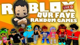 ROBLOX Live Stream | Random games with subs and viewers...