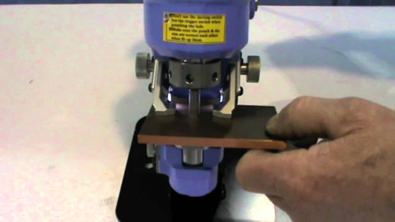RW-M2 Electric Hydraulic Hole Puncher By Stainelec ...