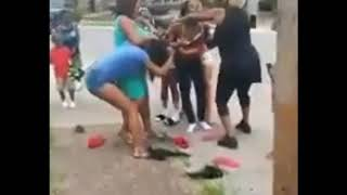 Hood Fights (Girl Fights)It Took 4Girls To Pull Her Off New 2019
