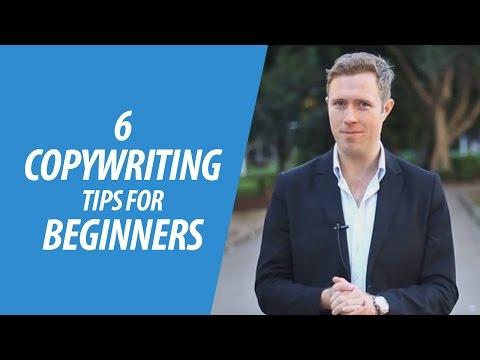 6 Copywriting Tips For Beginners