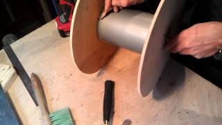как сделать катушку для кабеля своими руками