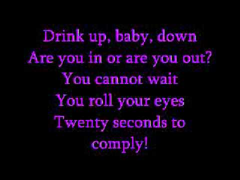 Let Go by A Static Lullaby - lyrics