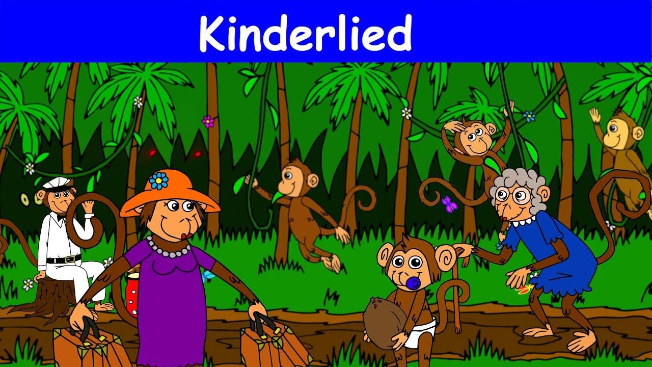 Die Affen Rasen Durch Den Wald Kinderlied Sing Mit Yleekids