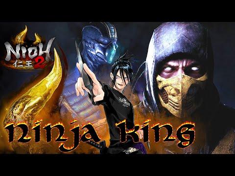 Nioh 2   Ninja King (BEST Endgame Ninja Build)  [Build Guide]  仁王2