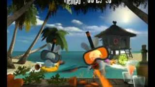 Rayman Raving Rabbids ALL Minigames 1/4