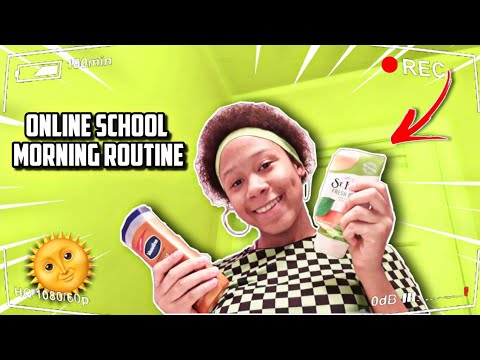 My 5AM Online School Morning Routine 😱😍 *voiceover*   TrinityRarity