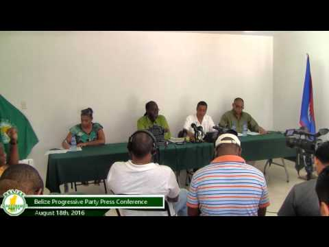 BPP Press Conference | Aug 18th, 2016 | full