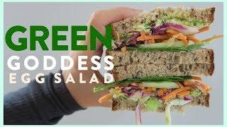 Green Goddess Egg Salad Sandwich Recipe | EAT