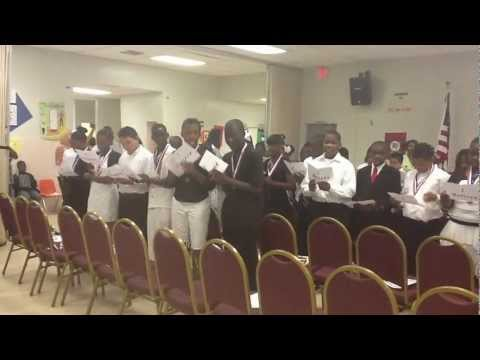 I BELIEVE (By Fantasia Barrino) Santiago in North Lauderdale Elementary School