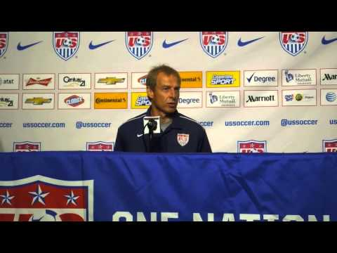 Jurgen Klinsmann Press Conference
