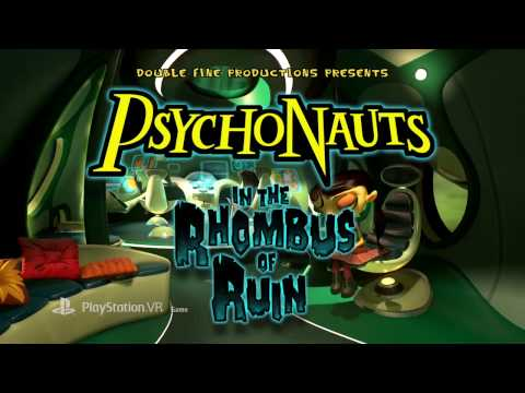 Psychonauts in the Rhombus of Ruin - Launch Trailer | PS VR