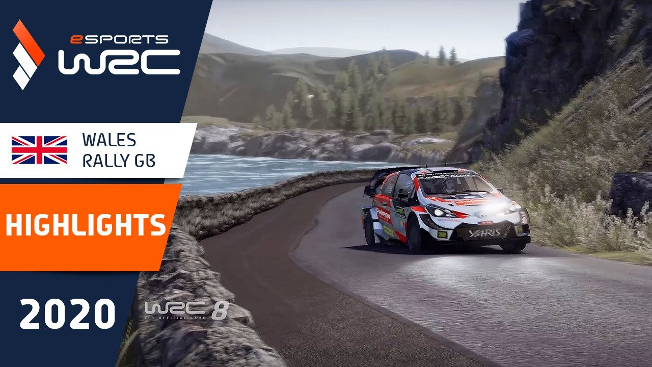 eSports WRC 2020: HIGHLIGHTS Round 10 - Wales Rally GB