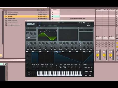 Synthesis Bas(s)ics: How To Create A Boom/808 Bass With Serum Synth