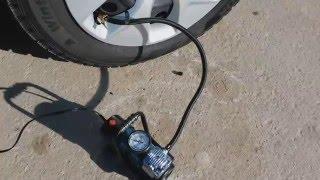 Тест автомобильного компрессора Hyundai HY45. смотреть