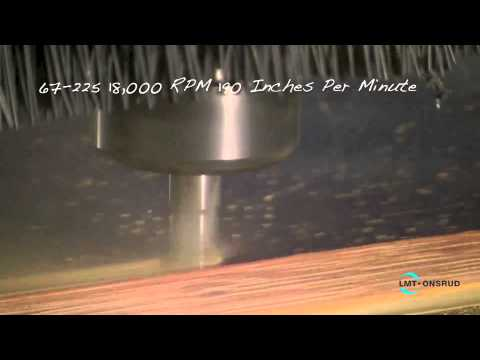 Cutting Phenolic at High Speed