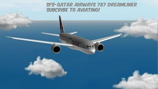 787-8 DREAMLINER QATAR AIRWAYS | Roblox SFS Flight Simulator