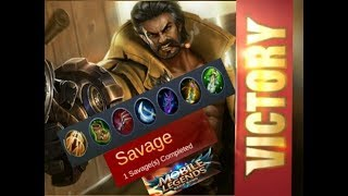 Mobile legend Roger savage build | make unstoppable - Tips & Tricks _watch at last 3 minute.