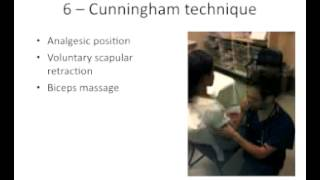 Shoulder Dislocation Talk given by Neil Cunningham at ICEM 2012