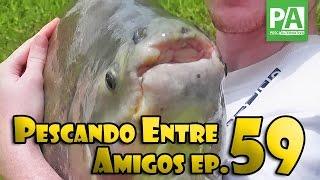 Pescando Entre Amigos - EP. 59 - Grandes batalhas no Centro de Pesca Taquari
