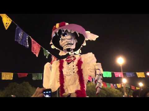 """Dia De Los Muertos 2012 """"Dead Man's Party""""  Mariachi Plaza Boyle Heights-"""