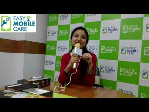 DTC K1 Bluetooth Microphone UNBOX & REVIEW - Karaoke Mic With Speaker|Easy Mobile Care