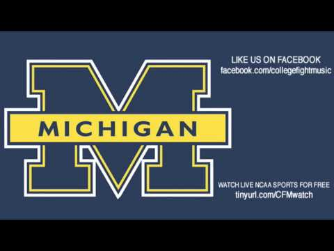 University of Michigan Wolverines Fight Song