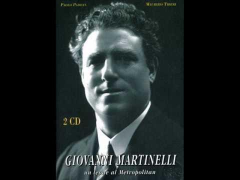 Giovanni martinelli sings celeste aida youtube for Martinelli levico