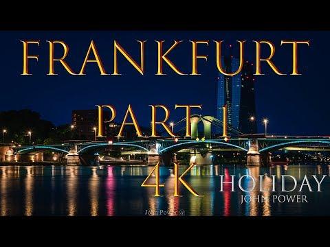 Skyline FRANKFURT am Main City Germany Holiday Travel Skyscraper 4K
