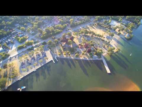 Aerial View Orillia Ontario    Aug 6/7 Weekend 2016
