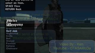 Grand Theft Auto San Andreas Pc Mw2 Mods Links From Youtube - The