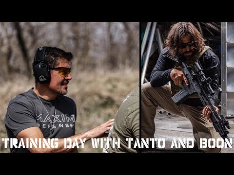Training With Benghazi War Heroes Tanto and Boon