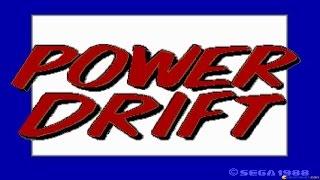 Power Drift gameplay (PC Game, 1989)