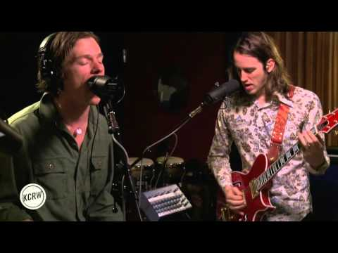 "Cage The Elephant performing ""Mess Around"" Live on KCRW"