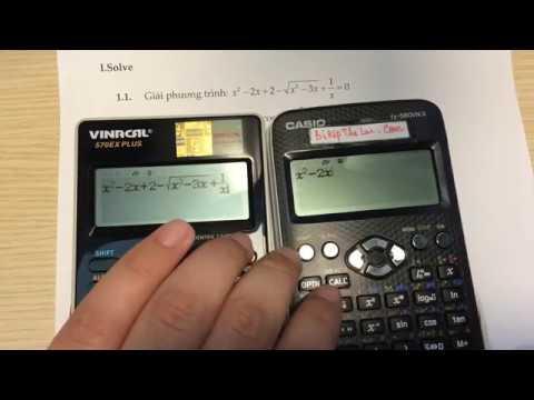 Mở hộp, đánh giá nhanh hiệu năng Vinacal 570 Ex Plus với Casio 580 VNX , Vinacal 570 Es