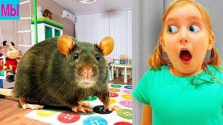 - Новые приключения крысы в городе Выполняем задания Мультик Игра СИМУЛЯТОР МЫШИ виртуальный питомец
