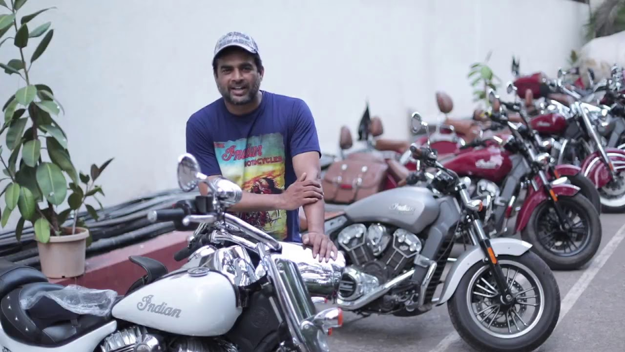 R Madhavan talks about his passion for bikes. - YouTube