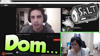 DOUBLELIFT REACTS TO IWDOMINATE FLAMING HIS VIEWERS | SHACO CHEESE - LoL Funny Stream Moments #142