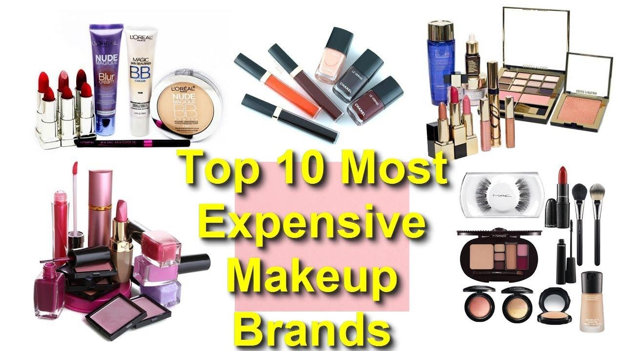 Top 10 Most Expensive Makeup Brands in the world | Luxury at its best!