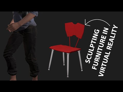 Sculpting A Chair In VR - Quest On Oculus - Adobe Medium