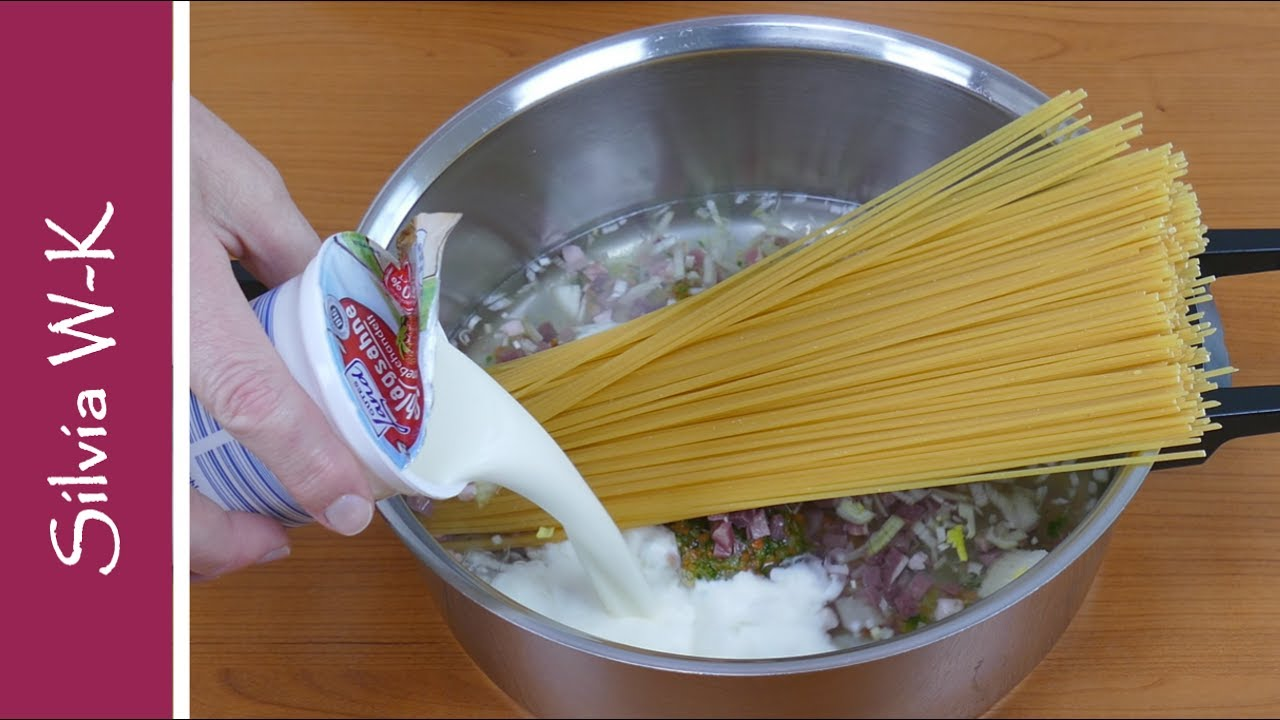 Auch eine kochidee schnell kochen einfach one pot for Schnell einfach kochen