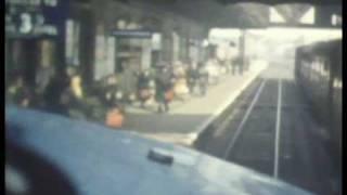 DELTIC DIESEL PROTOTYPE CAB RIDE BRITISH RAIL