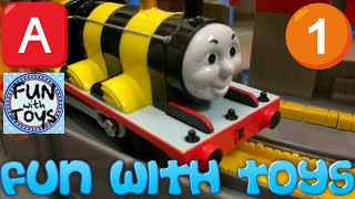 【trem de brinquedo】 - Thomas e Seus Amigos e  - Tomás e os Amigos T-34 Busy Bee James 00077 pt