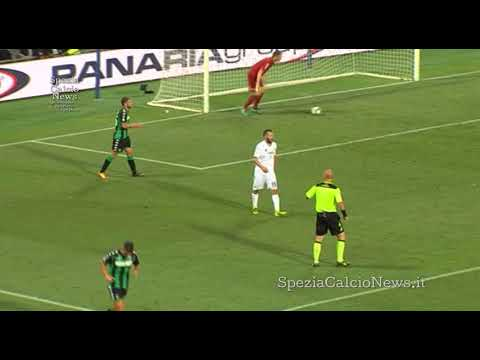 Coppa Italia TIM Sassuolo-Spezia 2-0 highlights - 12-8-2017