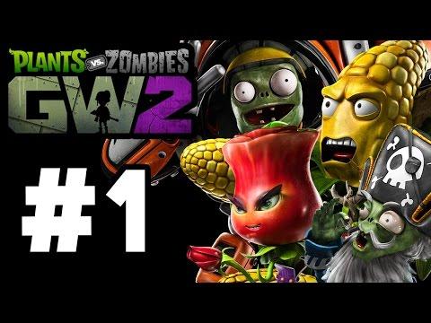 Plants vs. Zombies: Garden Warfare 2 Gameplay Part 1 - ALL PLANTS/ZOMBIES + CAMPAIGN (Walkthrough)