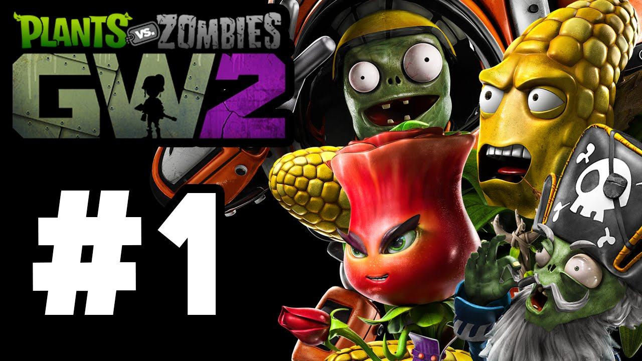 Plants Vs Zombies Garden Warfare 2 Gameplay Part 1 All Plants Zombies Campaign
