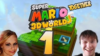 Let's Play Together Super Mario 3D World Part 1: Kann Juli 3D Games? thumbnail