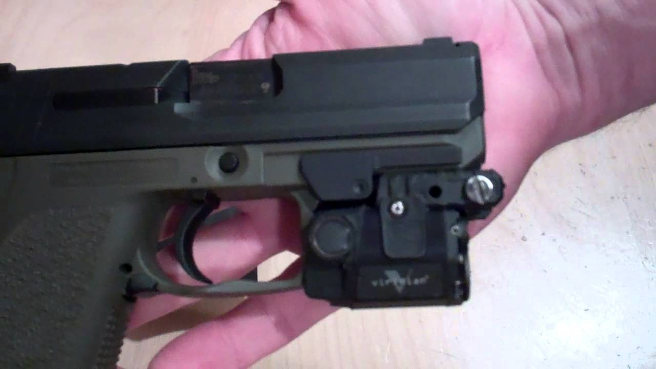 Holster For H Amp K Usp Compact With Rail With Viridian C5l